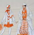 Broadway Follies - Costume Design for Karen Teti