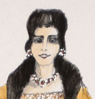 Agrippina - Costume design for Agrippina #4