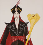Aladin - Costume Design for Jafar