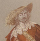 Cyrano de Bergerac - Costume design for Vicomte