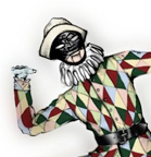 The Nutracker - Costume design for Harlequin