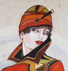 Costume design for Mame