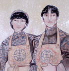 Costume design for Flower Drum Song